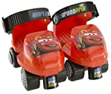 Disney Kid's Disney Cars Roller Skate with Knee Pads, Size J6-J9