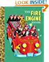The Fire Engine Book (Little Golden Treasures)