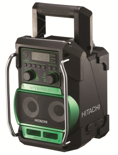Hitachi UR18DSL/J4 Site Radio (14.4 V, 18 V or Mains, AM/FM)