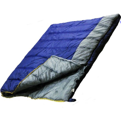 Ultracamp Deluxe 400gsm Double Sleeping Bag | Converts To 2 Single Sleeping Bags