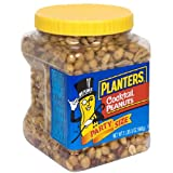 Planters Cocktail Peanuts, 35-Ounce Plastic Jars (Pack of 3)