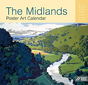 The Midlands Poster Art Large Wall Calendar 2015