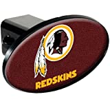 NFL Washington Redskins Gameball Trailer Hitch Cover, Black