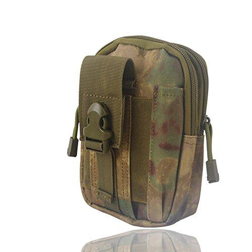 Wasserdichte 1000D Nylon Camouflage Tactical MOLLE Universal-Multifunktions -große Kapazitäts-Outdoor-Camping-Wandern praktische Gerät Beutel (Farbe 8)
