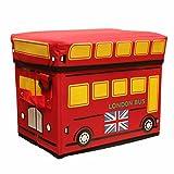 のりもの 乗り物 保冷 保温 スツール バッグ (ロンドンバス)