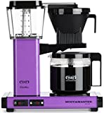 Technivorm-Moccamaster KBG 741 10-Cup Coffee Brewer with Glass Carafe, Grape