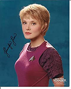 Star Trek Voyager Jennifer Lien hand-signed 8 x 10 photo C of A
