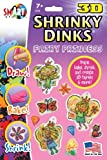 3D Fairy Princess Shrinky Dinks