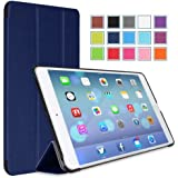 MoKo Apple iPad Air Case - Ultra Slim Lightweight Smart-shell Stand Case for Apple iPad 5 / iPad Air(5th Gen) Tablet, INDIGO (With Smart Cover Auto Wake / Sleep)