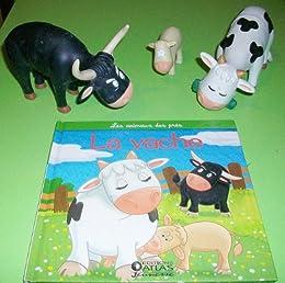 Les animaux des près : la vache, le veau, le taureau et le boeuf