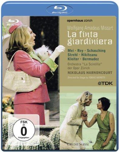 Finta Giardiniera - Mozart - Blu Ray