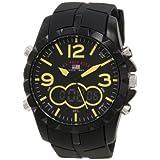 Reloj U.S. Polo Assn. Sport US9237 de hombre, analogo digital, Color negro.