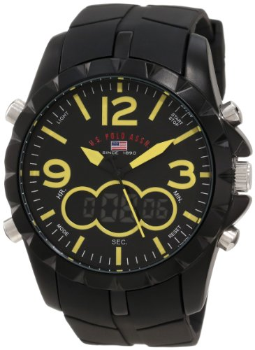 U.S. Polo Assn. Sport Men's US9237 Black Analog