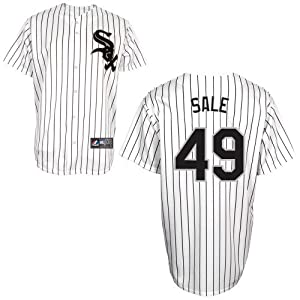 Chris Sale Chicago White Sox Home Replica Jersey by Majestic Select Size: Medium by Majestic