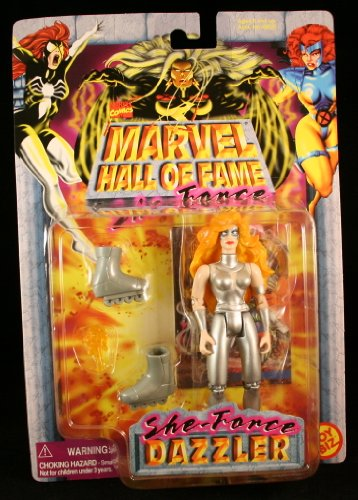 Marvel Hall of Fame She-Force Dazzler Action Figure - 1