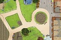 Bauernhof / Reiterhof Spielmatte / Spielteppich für das Kinderzimmer - Maße: ca. 150 x 100 cm - Zubehör passend für Schleich, Papo, Bullyland etc. von STIKKIPIX®