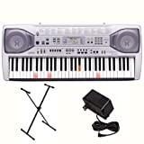 Casio LK-92TV 61-Key Lighted Keyboard with TV Outputs, Stand, and Power Adapter