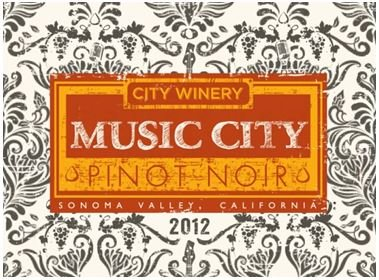 2012 City Winery Music City Pinot Noir 750 Ml