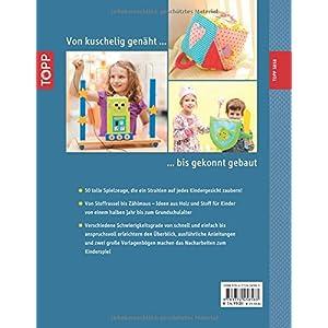Spielsachen aus Holz und Stoff: 50 Ideen für leuchtende Kinderaugen