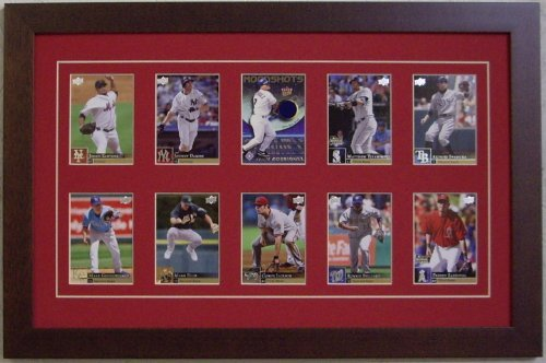 Trading Card Display Frame--10 Cards-- (Card Display Frame compare prices)