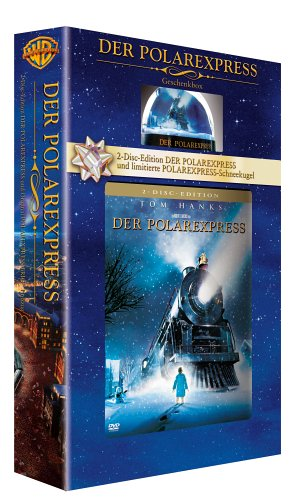 Der Polarexpress (Geschenkbox mit Schneekugel) [2 DVDs]
