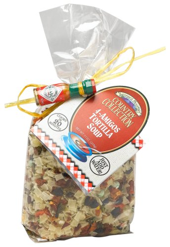 Country Collection 4 Amigos Tortilla Soup, 11-Ounce. Bags (Pack of 4)