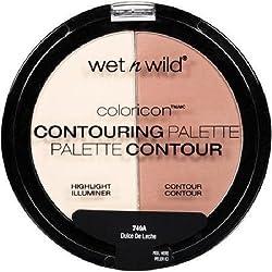 Wet n Wild Color Icon Contouring Palette, 749A Dulce De Leche, 0.46 oz