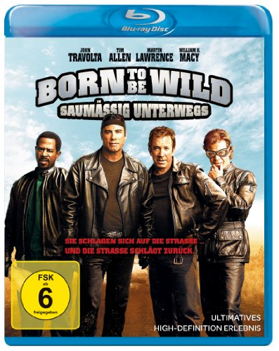 Born to be wild - Saumig unterwegs [Blu-ray] [Import allemand]