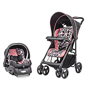 Evenflo Journeylite Travel System with Embrace, Penelope