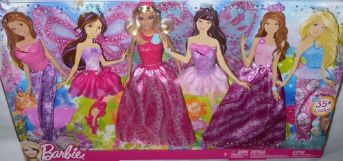 "Barbie 11"" Doll & Fashions 35+ Looks Wings Mermaid Fins Skirts Tops Dress New"