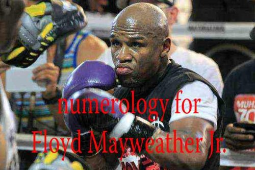 Numerology for Floyd Mayweather Jr.