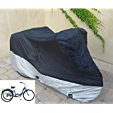 "Adult Tricycle cover for Schwinn, Westport in Black ss300 75""L x 30""W x 44""H"