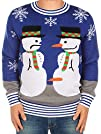 Ugly Christmas Sweater – Snowman Nose…