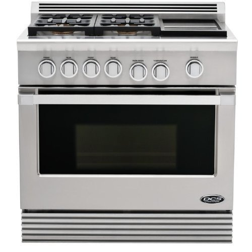 Dcs Rdu-364Gd-N Range 36, 4 Burner, Griddle, Natural Gas
