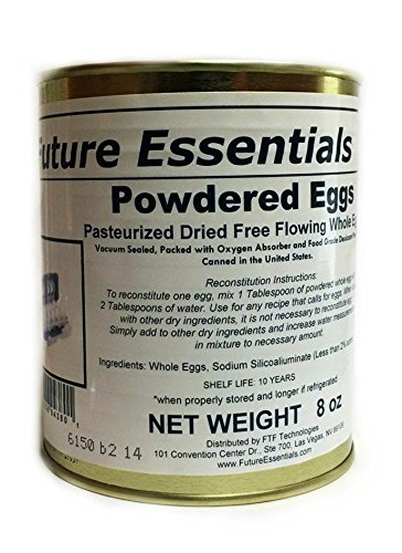 Future Essentials Canned Powdered Eggs #2.5 Can (8 oz) (Canned Eggs compare prices)