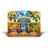 Skylanders Giants Triple Pack #2 Ignitor, Chill, and Zook