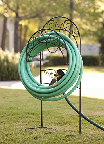 Liberty Garden Products Decorative Garden Hose Stand Wire