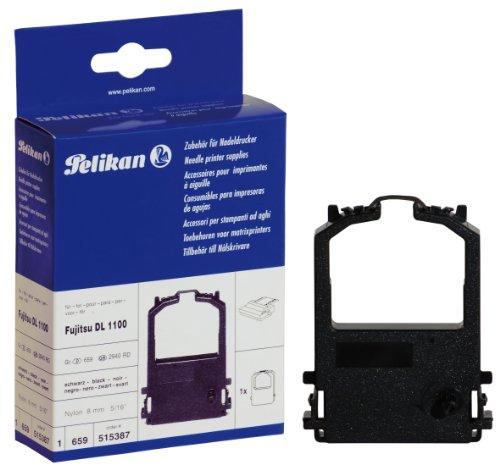 Ruban couleur groupe 659 Nylon noir Pelikan 515387