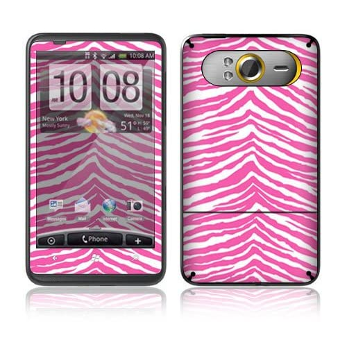Pink Zebra Decorative Skin Cover Decal Sticker for HTC HD7