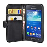 PEDEA Wallet Flip Case for Samsung Galaxy ACE 3 - Black