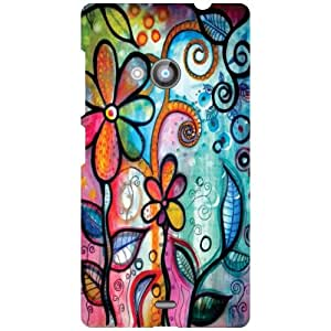 Nokia Lumia 535 Back Cover ( Designer Printed Hard Case)