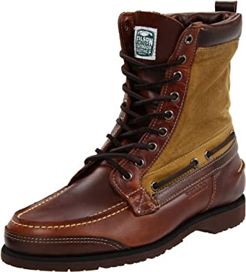 Sebago Men's Osmore Lace-Up Boot,Brown Oiled Waxy,7 M US
