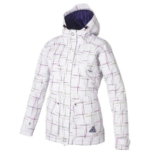 Dare2b Bounce Back Jacket, lässige Damen Snowboard- & Freestylejacke mit wasserdichtem und atmungsaktivem Ared 5000-Gewebe im Fashion-Look