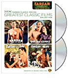 Cover art for  TCM Greatest Classic Films Collection: Tarzan - Volume One (Tarzan the Ape Man / Tarzan Escapes / Tarzan Finds a Son! / Tarzan and His Mate)