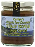 Carley's Organic Raw Chocolate Totally Tropical Super Spread 250 g (Pack of 3)