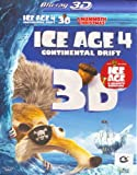 Ice Age 4 Continental Drift 3D + A Mammoth Christmas (Blu-ray)