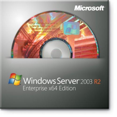 Microsoft Windows x64 Server Standard 2003 R2 SP2 64-bit for System Builders [Old Version] (Windows Server 2003 compare prices)