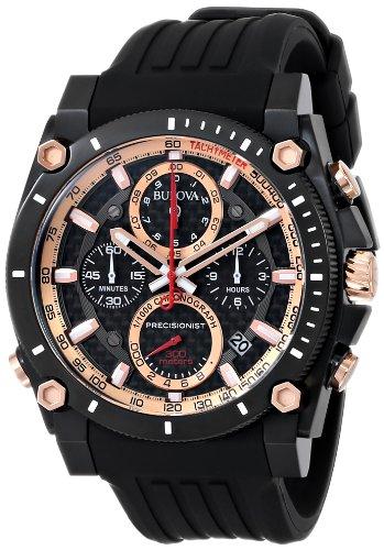 Bulova Men's 98B181 Precisionist Champlain Chrono Watch