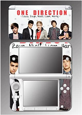 One Direction Liam Niall Louis Harry Zayn Video Game Vinyl Decal Cover Skin Protector 32 for Nintendo 3DS XL