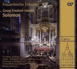 Haendel - Solomon / Tim Mead, Labelle, McFadden, Slattery, Williams, WCC, FOG, McGegan (Gottingen Handel Festival)